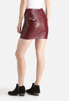 Goldie - Lone Star PU Skirt