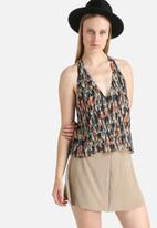 Goldie - This Moment Brushstroke Printed Camisole