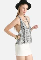 Goldie - This Moment Python Print Camisole