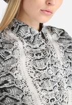 Goldie - Olivia Python Print Blouse