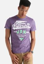 Superdry. - Label Line Tee