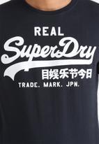 Superdry. - Vintage Logo Entry Tee