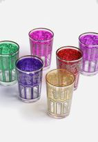 Love Home - Patterned Turkish Glass Set