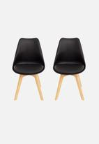 Eleven Past - Set of 2 Levi chairs