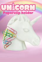 Mustard  - Unicorn Paperclip Holder