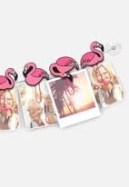 Mustard  - ClipIt Flamingos