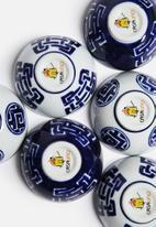 Love Home - Dipping Bowls Geo - Cobalt Blue