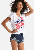 Superdry. - Stars & Stripes American Classic Tee