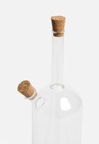 Love Home - Drip Oil and Vinegar Glass Bottle