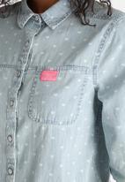 Superdry. - Denim Wash Shirt