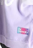 Superdry. - Spray Ombre Boxy Sweat