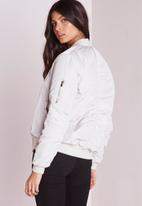 Missguided - Soft Touch Bomber Jacket