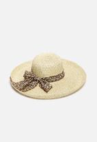 South Beach  - Straw Beach Hat