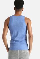 Hype - Cyan Speckle Print Vest