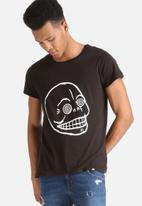 Cheap Monday - Cap Hypno Skull Tee
