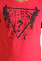GUESS - Butterfly Triangle Tee