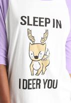 MINKPINK - I Deer You Tee