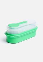 Kitchen Craft - Multi-Layer Rectangular Lunch & Snack Boxes