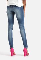 Noisy May - Eve Super Slim Destroy Jeans