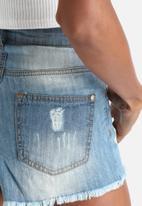 Influence. - Distressed Denim Shorts