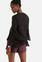 Influence. - Peasant Tie Up Blouse