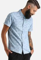 Another Influence - Geo Print Short Sleeved Shirt