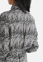 Goldie - Runaway Speckle Print Shirt Dress