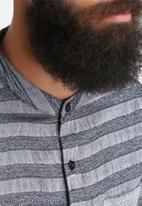 Another Influence - Stripped Short Sleeve Shirt