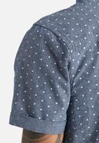 Another Influence - Dip Dye Polka Dot Shirt