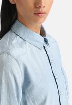 G-Star RAW - Lancer Splatter Boyfriend Shirt