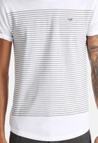 S.P.C.C. - Printed Stripe Tee
