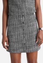 Vero Moda - Sasha Tweed A-Line Skirt