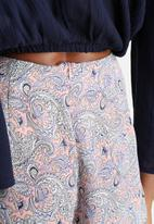 Influence. - Swirly Pink Paisley Shorts