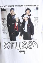 Stussy - Where Ya At Regular Tee