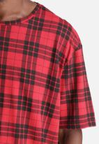Another Influence - Longline Check Tee