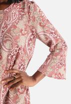 Vero Moda - Pais 3/4 Mini Paisley Dress