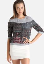 ONLY - Identity Patchwork Top