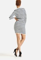 Selected Femme - Mifa Striped Rib Dress