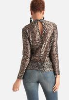 Vero Moda - Henry High Neck Lace Top