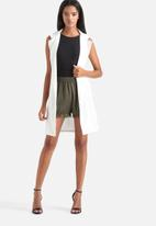 Influence. - Georgette Wrap Gilet