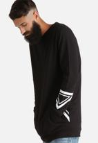 Another Influence - Longline Crew Sweat