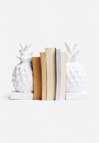 Eleven Past - Pineapple Bookend Set of 2