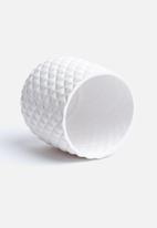 Eleven Past - Short Vase