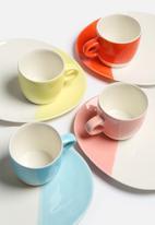 Urchin Art - Set of 2 Colour Block Mugs