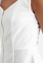 GUESS - Lace Back Peplum Top