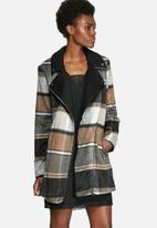 VILA - Ntour Check Coat