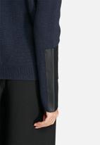 VILA - Kaluan Rib Split Sweater