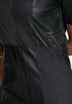 VILA - Dax Faux Leather Dress
