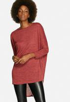 Influence. - Jersey Long Sleeves Tunic Top