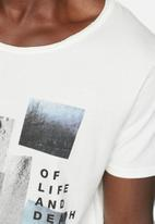 Selected Homme - Life Tee